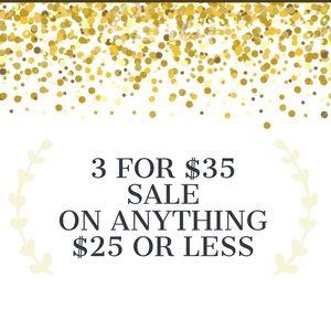 Accessories - 3 FOR $35 SALE! Details in the description!